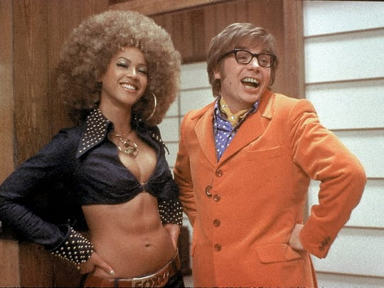 Beyoncé teamed up with Mike Myers in the 2002 movie 'Austin Powers in Goldmember.'