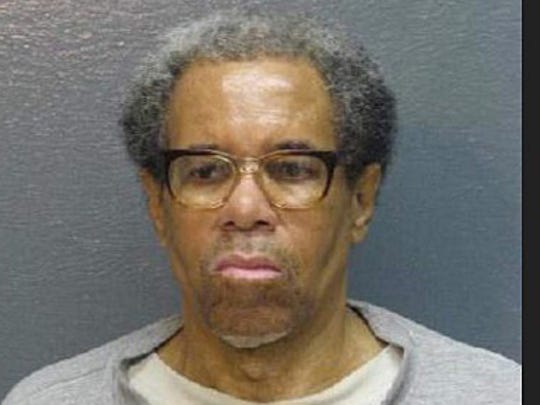 Albert Woodfox in February 2015 booking mug from the