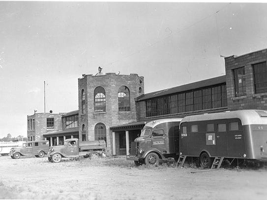 A photo of the Camp Ripley Miller Airfield Hangar at