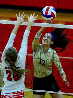 Hundreds of young girls' volleyball pairs will descend on York in April for a pair of major athletic events.