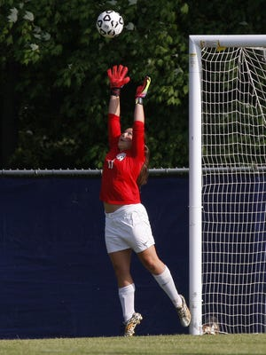 St. Johns' Kylie Steingreaber is one of the area's top keepers in 2017.