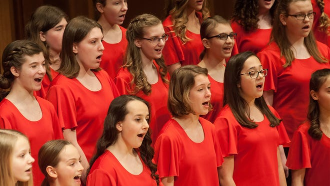 The Lawrence Academy of Music Girl Choir program will perform two shows on March 24 in the Lawrence Memorial Chapel.