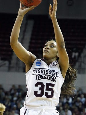 Mississippi State's Victoria Vivians tried out for the University Games with Team USA, as did Michigan State's Aerial Powers.