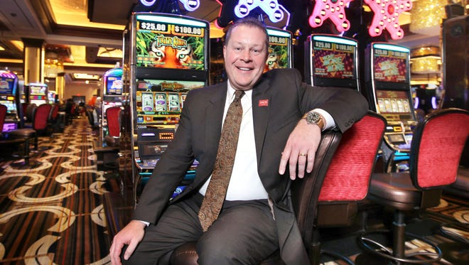 Chad Barnhill is the new general manager running Horseshoe Casino as it transitons operations to Rock Gaming.; The casino will be re-named Jack Cincinnati Casino this year. The Enquirer/Patrick Reddy