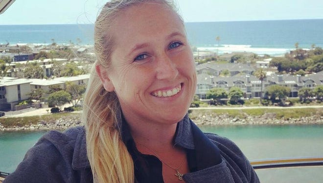 Carrie Barnette, 34, from Riverside, Calif., was killed during a country music festival in Las Vegas on Oct. 1, 2017.