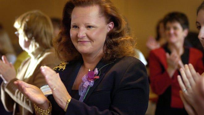 Disbarred Clinton lawyer Cynthia Dziurgot.
