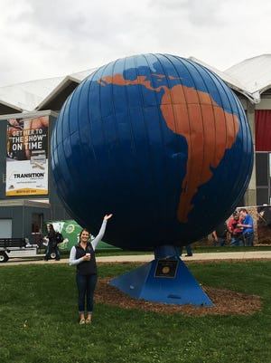 Despite being 2,000 miles from her home state of California, Katie Migliazzo feels right at home at World Dairy Expo last week.