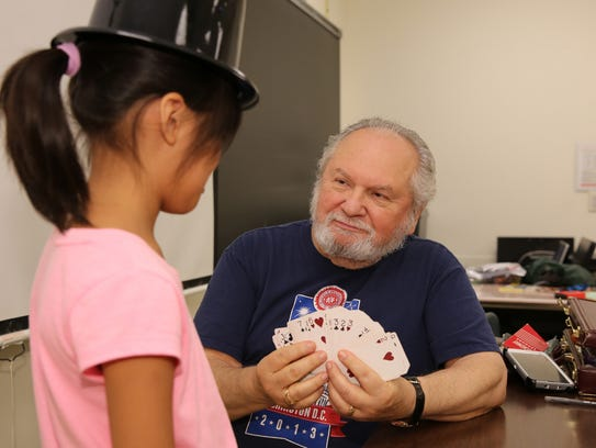 Gene Soucek of Edison concluded an 11-year run as magician-in-residence