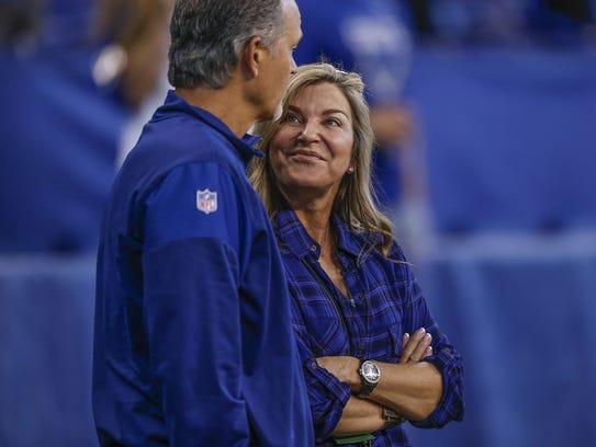 Tina Pagano, wife of Indianapolis Colts head coach