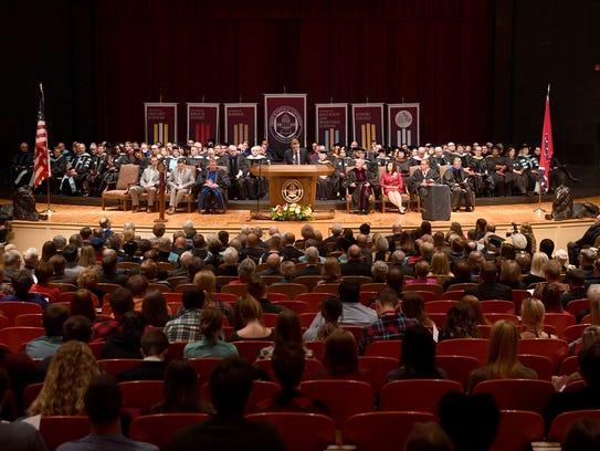 The inauguration of Freed-Hardeman University's 16th