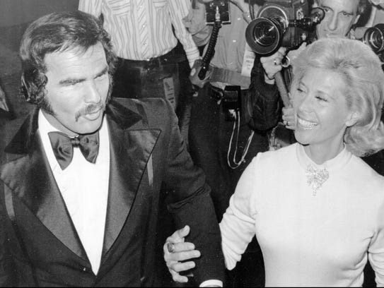 Burt Reynolds and Rancho Mirage resident Dinah Shore,
