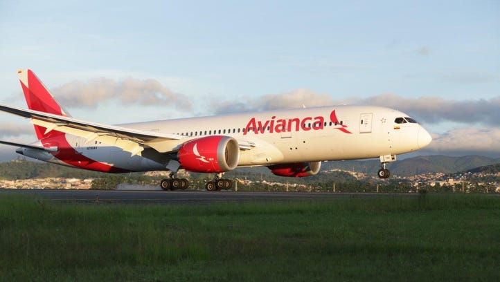 Avianca increasing Los Angeles-Bogota service
