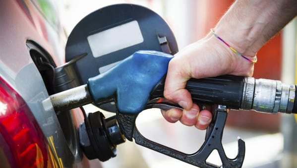 Gasoline prices in Louisville have dropped.