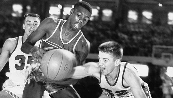 CRISPUS ATTUCKS -- Oscar Robertson is one of the state's basketball icons, leading the Tigers to the 1955 and '56 state titles and being named Mr. Basketball.