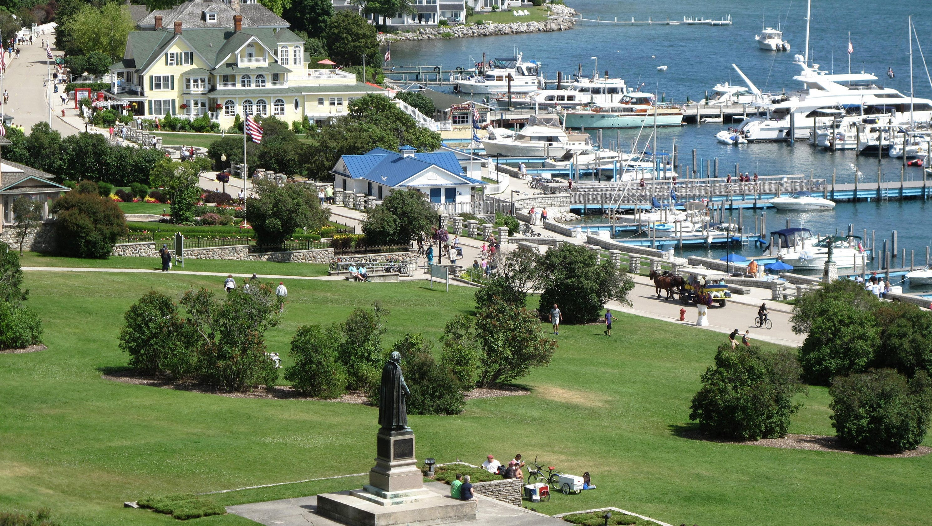 mackinac island chatrooms Since motor vehicles are not permitted to intrude on the natural beauty of mackinac island, there is no better way to visit this historic isle and legendary points of interest .