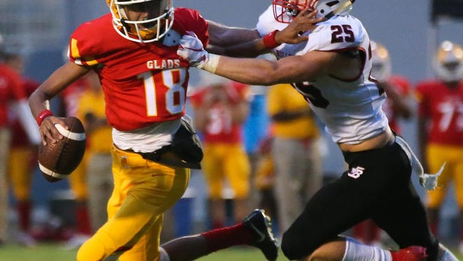 Clarke Central and Winder-Barrow face each other during the 2019 season in Athens.