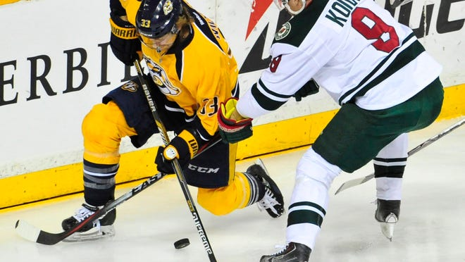 The Minnesota Wild are one of the Predators' likeliest first-round opponents in the Stanley Cup playoffs.