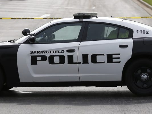 SPD Springfield Police Department car