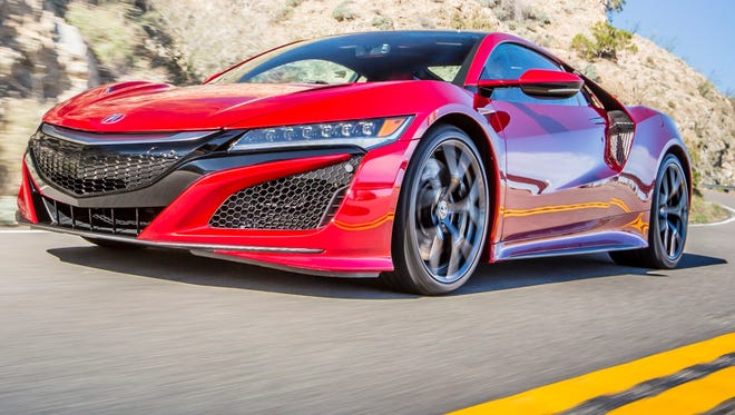 2017 Acura NSX is coming in the spring.
