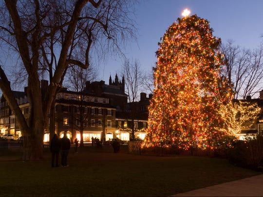 Palmer Square in Princeton.