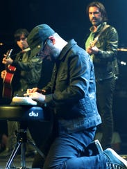 Chris Vos performs at Petty Fest in Los Angeles in