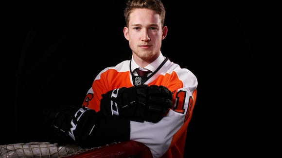 Pascal Laberge, a 2016 draft pick of the Flyers, had