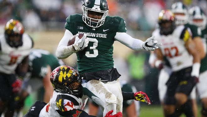 Michigan State is a 1-point favorite over Washington State in the Holiday Bowl.