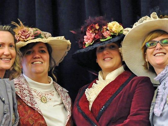 Wood School teachers Diana Sansone, Nina Crain, Sueann