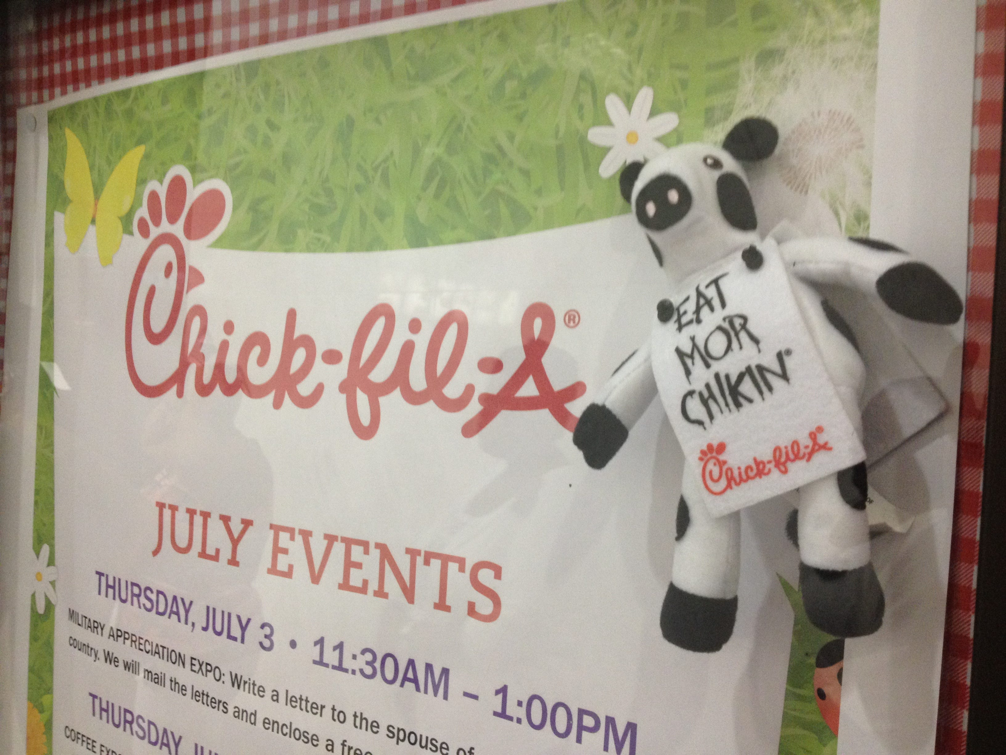 photograph relating to Chick Fil a Cow Appreciation Day Printable identified as Chick-fil-A Cow Appreciation Working day 2019: Where by towards receive a absolutely free