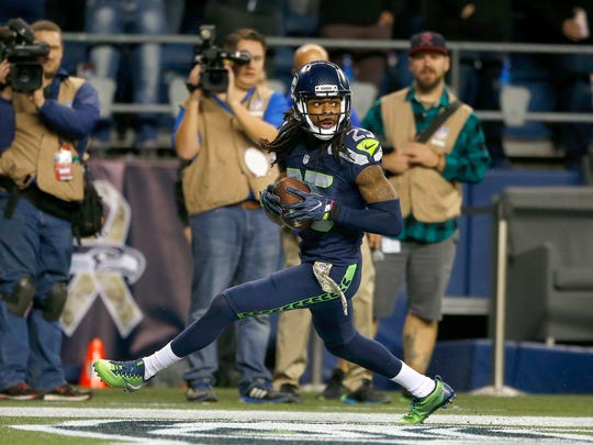 Richard Sherman was in the middle of controversy Monday, but that's nothing new for the Seattle cornerback.