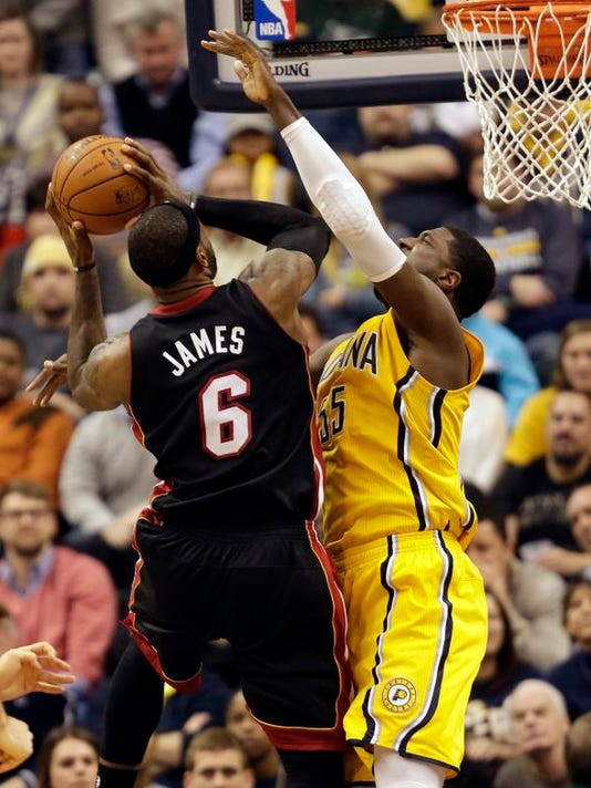 Heat Pacers Basketball
