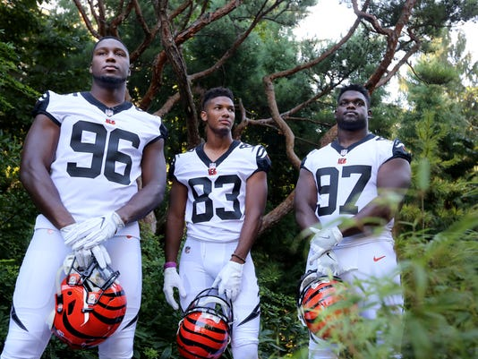September 13, 2016: Cincinnati Bengals, new uniforms, Cincinnati Zoo and Botanical Garden, White Tigers, Liz Dufour