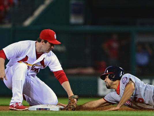 MLB: Washington Nationals at St. Louis Cardinals