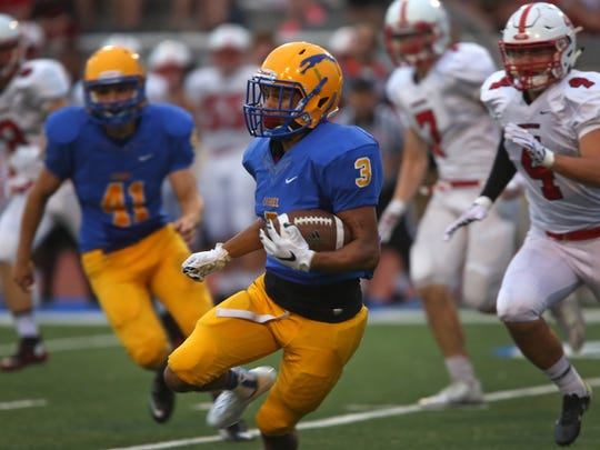 Carmel wide receiver Jalen Walker is headed to University