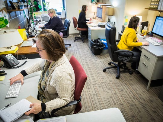 A 'command center' at Ball State coordinates courses