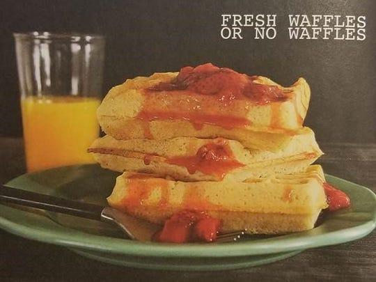 Fresh Waffles or No Waffles.