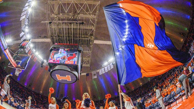Champaign-Urbana will host the Illinois High School Association boys basketball state finals from 2021-23, the IHSA board of directors voted Monday. Games were played in State Farm Center, once known as Assembly Hall, for more than 30 years before the tournament moved to Peoria.