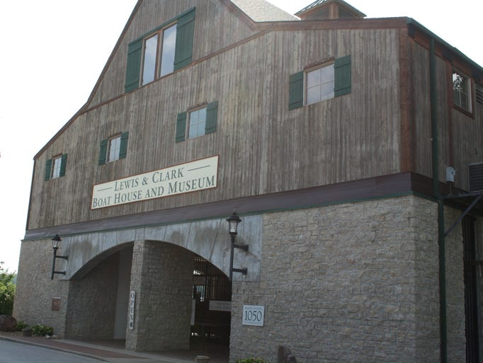 The Lewis & Clark Boat House and Museum is a must-stop