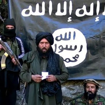 A video grab released by the Tehreek-e-Taliban Pakistan