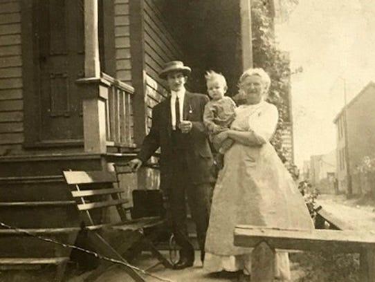Laurie (Ritter) Self's grandmother, Harriet Lammert