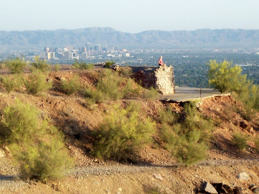 Who knew there was once a swank restaurant atop Shaw Butte?