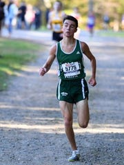 Midland Park junior runner Matt Rossnagel.