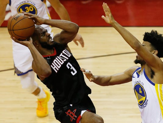 Golden State Warriors v Houston Rockets - Game Five