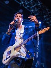 Lauv performing at The Van Buren in Phoenix, AZ.