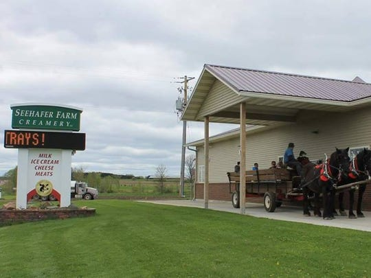 Seehafer Farm Creamery is located just outside of Marshfield on State 97.