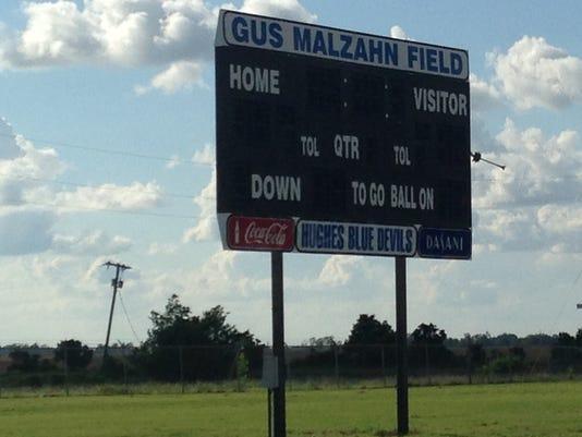 Hughes High School Gus Malzahn Field