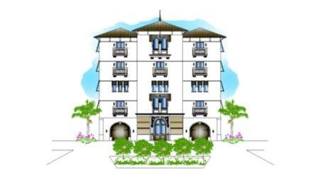 A rendering shows a boutique hotel proposed for Bonita Beach Road in Bonita Springs.