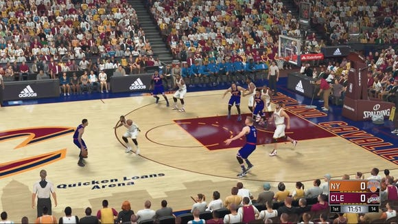 The NBA2K series is among the most popular in the sports video gaming.