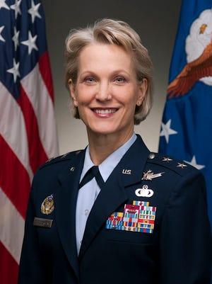 Maj. Gen. Steuterman bio portrait. Photographed in the Pentagon on January 13, 2010.  (U.S. Air Force photo/Jim Varhegyi)