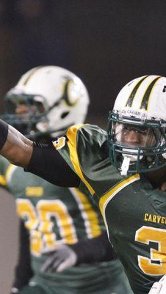 "G.W. Carver's Lyndell ""Mack"" Wilson is the top-rated"